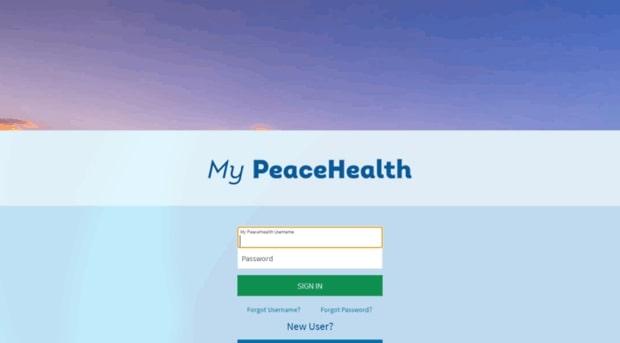 My PeaceHealth