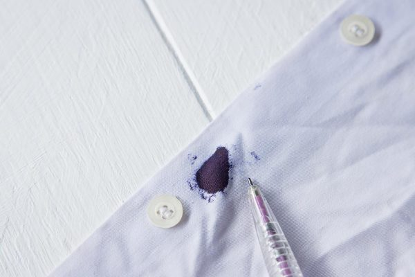 how to get ink out of clothes
